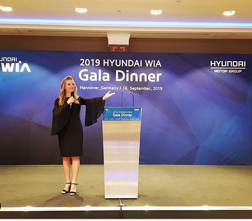 Eröffnungszeremonie der EMO 2019 auf der Hannover Messe für Hyundai Feierlicher Abend mit einer japanischen Delegation in Hannover