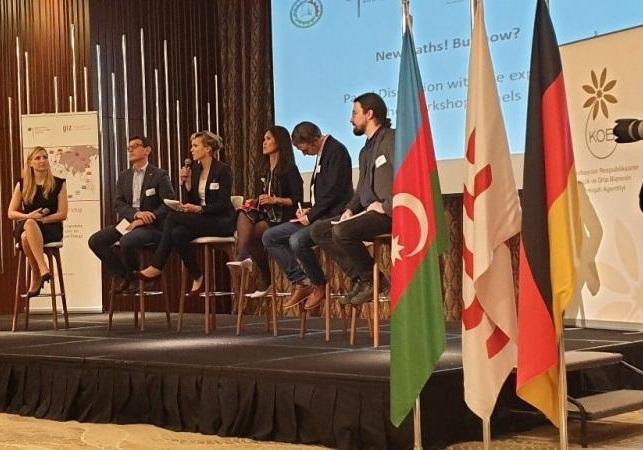 Baku: Managerkonferenz Bundesministerium für Wirtschaft und Energie, 10 Jahre Kooperation der GIZ mit Aserbaidschan