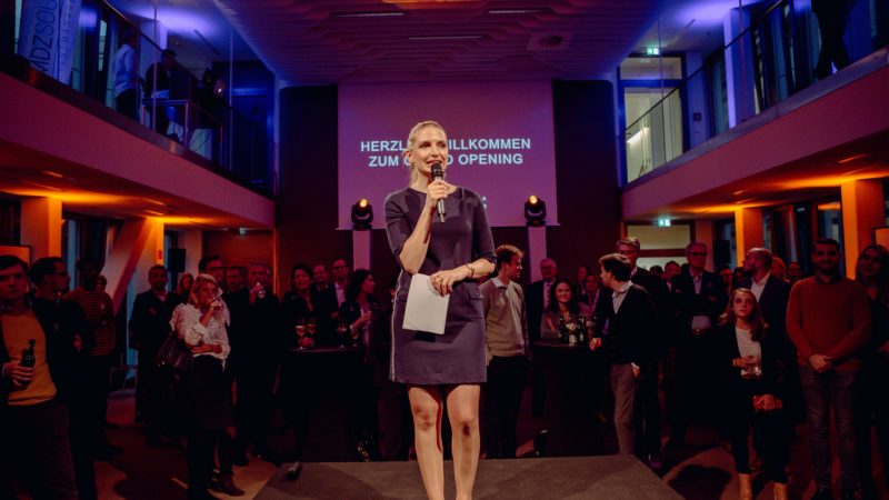 Eröffnung SQUARE in Hamburg, Eventmoderation