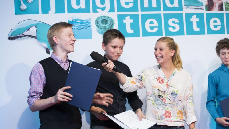 Jugend testet und Frankfurter Buchmesse für Stiftung Warentest