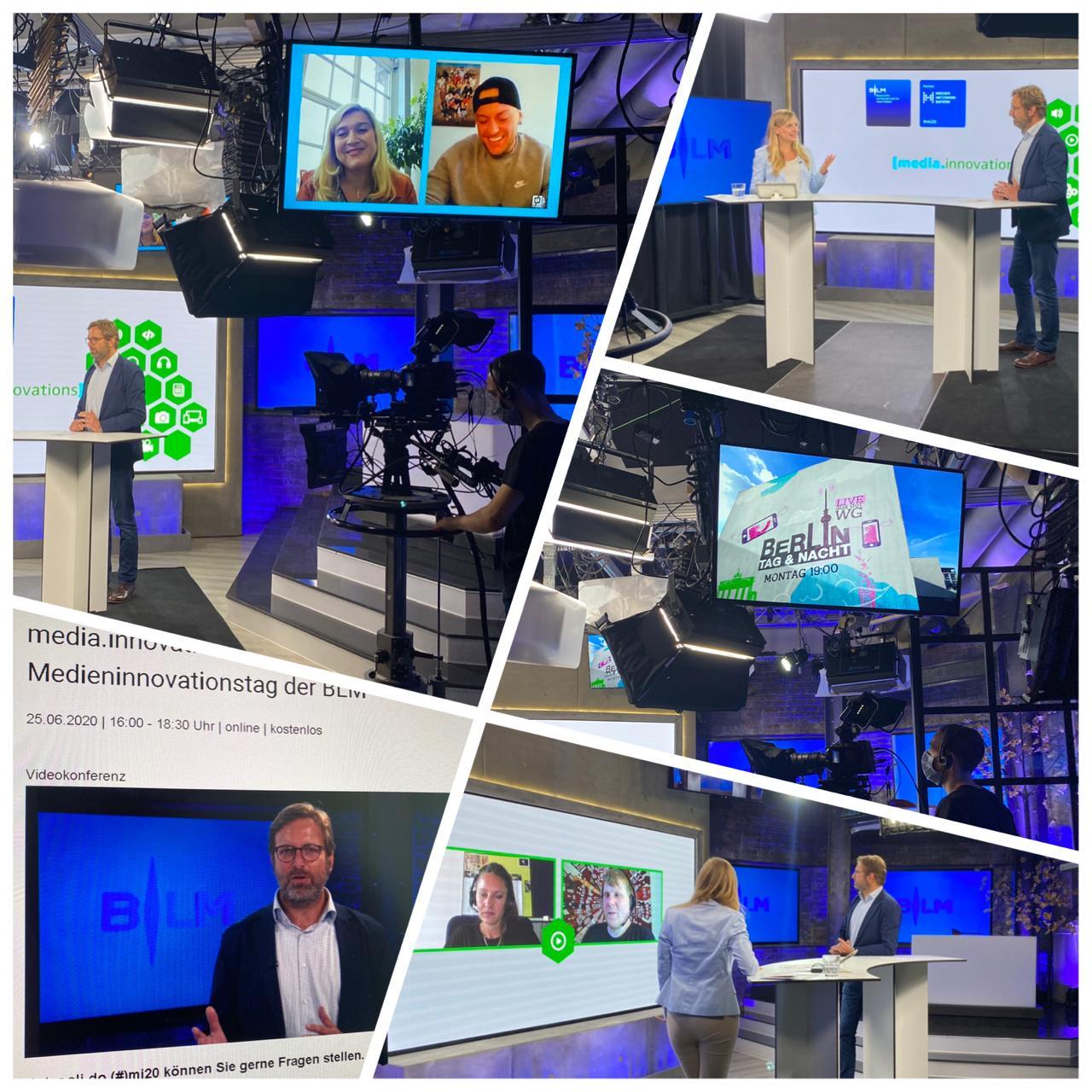 Livestream mit RTL 2, NDR: zu einem Innovationstag der Medienbranche, Innovationen während Corona mit RTL2, NDR Corona App und vielen weiteren Tools zur Digitalisierung