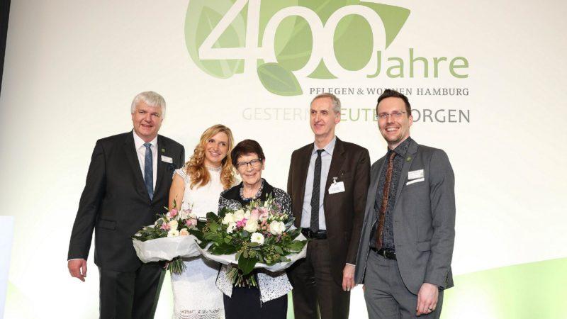 400 Jähriges Jubiläum Pflegen und Wohnen Hamburg