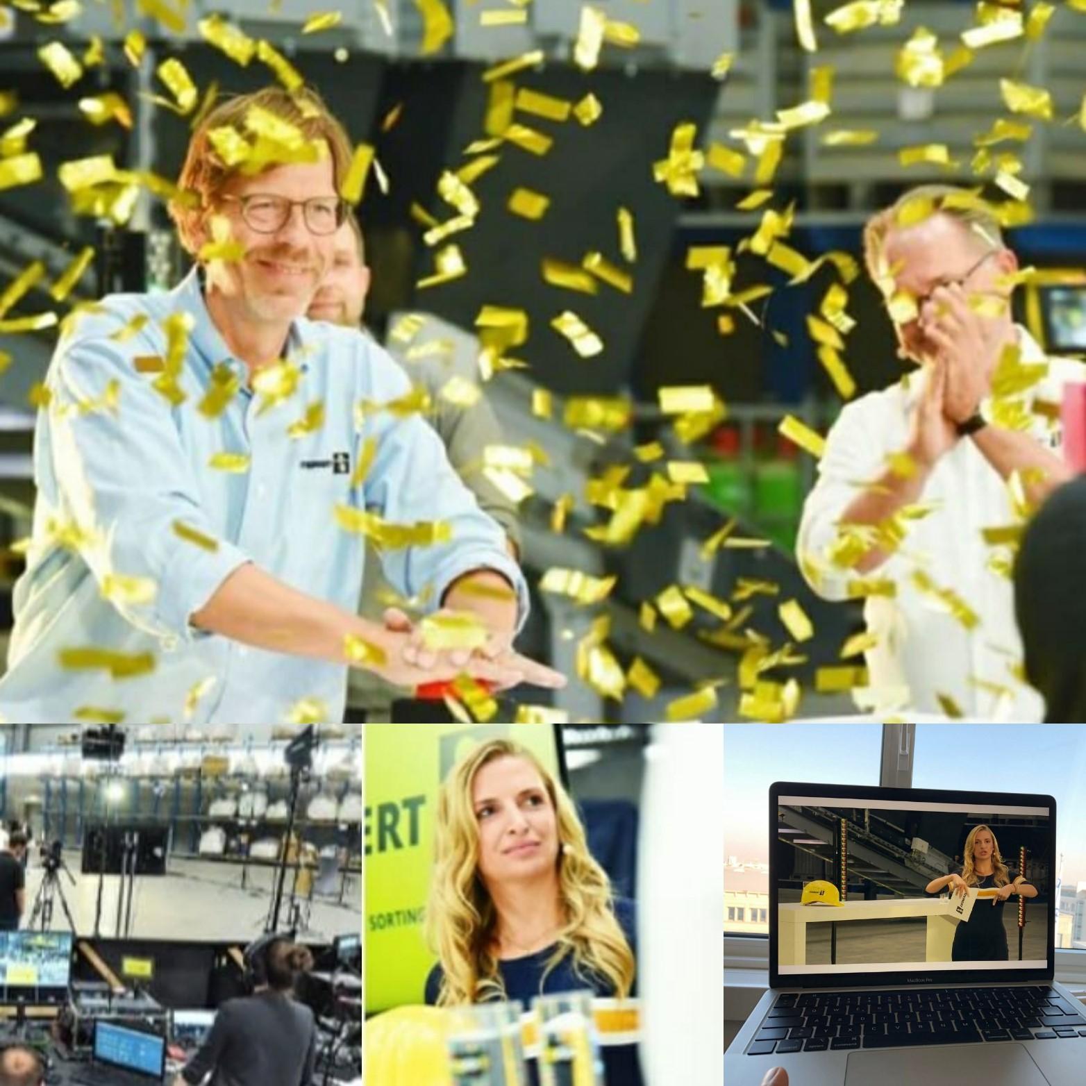 GOLDEN BUZZER: globaler Livestream in 55 Länder, Eröffnung eines neuen Werkes
